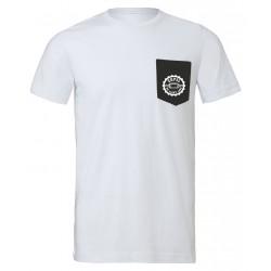 T-shirt avec poche contrastée